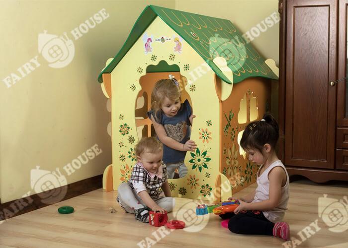 Ігрові будиночки для дітей віком від 2 до 6 років
