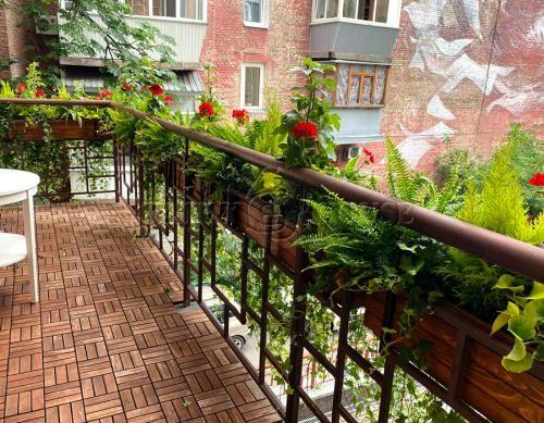 Дерев'яний ВАЗОН кашпо для рослин та квітів Марокко Д100*Ш20*В20