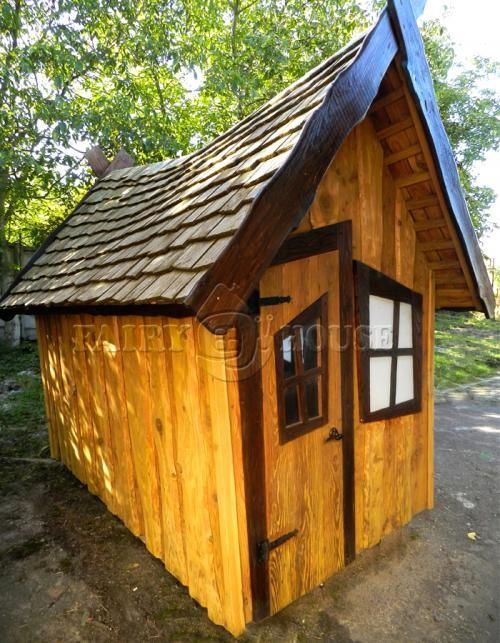 Будинок дерев'яний ЗАБОРОНЕНОГО ЛІСУ