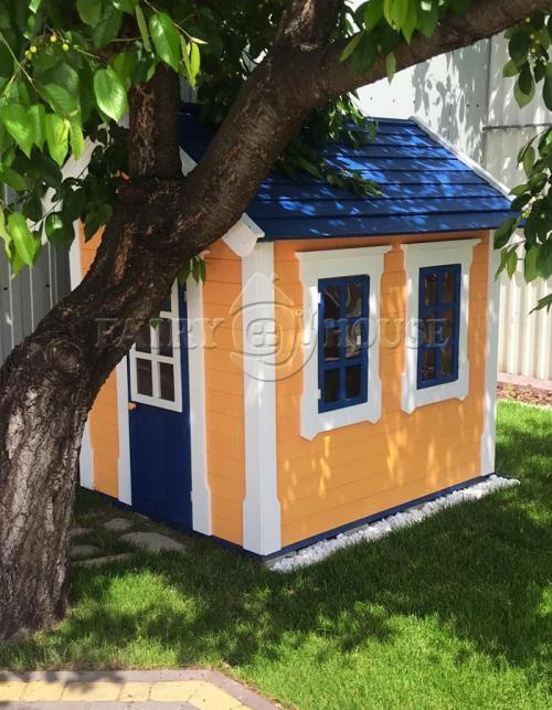Дерев'яний вуличний будиночок Мініпутів для дітей(2)