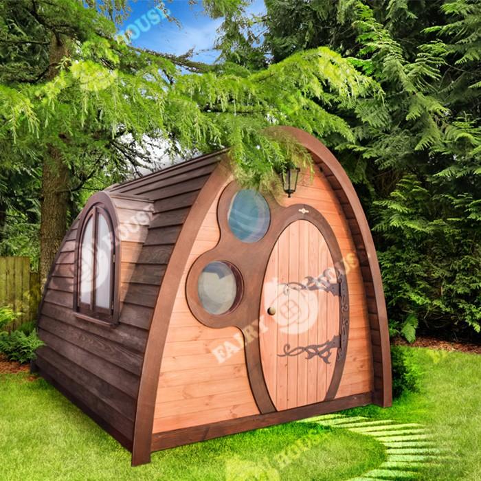 Дерев'яний будинок Нора Фродо