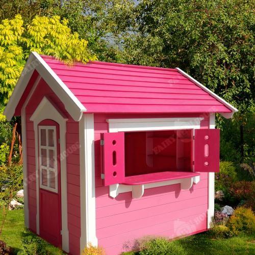 Дерев'яний будиночок Мініпутів для дітей(3)