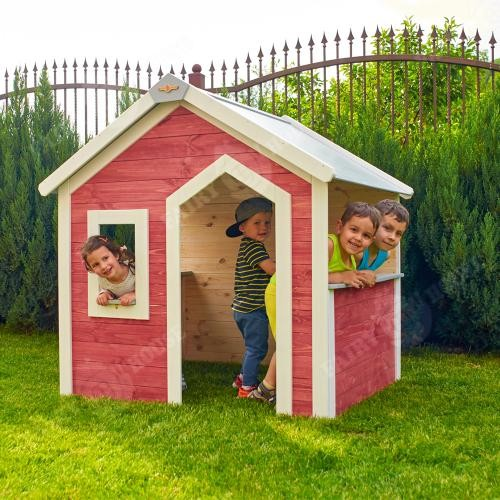 Дерев'яний будиночок Сонячного міста для дітей (3)