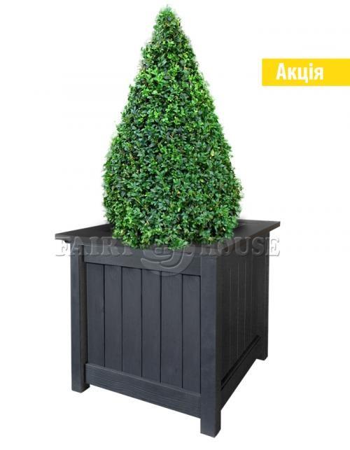 Дерев'яний садовий ящик для рослин та квітів Селеста Д59*Ш59*В56