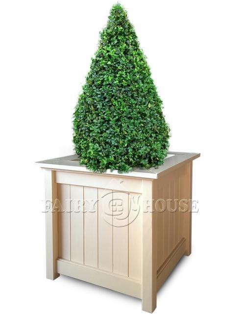 Дерев'яний садовий ящик для рослин та квітів Селеста Д68*Ш68*В65