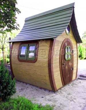 Вулична дерев'яна дитяча хатинка Ельфа