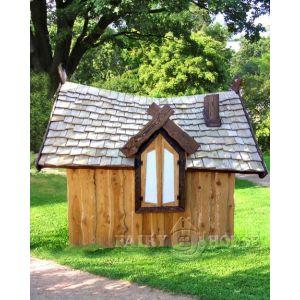 Вуличний дерев'яний будинок ЗАБОРОНЕНОГО ЛІСУ для дітей фото 7