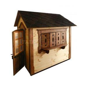 Дерев'яний вуличний будиночок Мініпутів для дітей(1) фото 8
