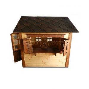 Дерев'яний вуличний будиночок Мініпутів для дітей(1) фото 11
