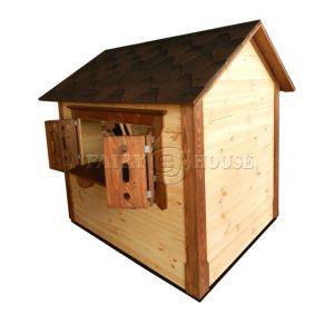 Дерев'яний вуличний будиночок Мініпутів для дітей(1) фото 12
