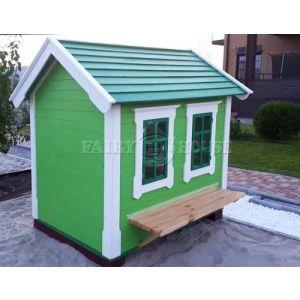Дерев'яний вуличний будиночок Мініпутів для дітей(1) фото 6