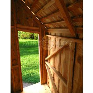Вуличний дерев'яний будинок ЗАБОРОНЕНОГО ЛІСУ для дітей фото 4