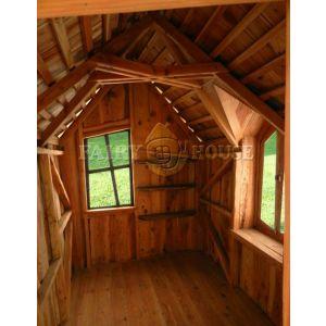 Вуличний дерев'яний будинок ЗАБОРОНЕНОГО ЛІСУ для дітей фото 5