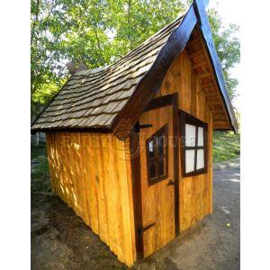 Вуличний дерев'яний будинок ЗАБОРОНЕНОГО ЛІСУ для дітей фото 1