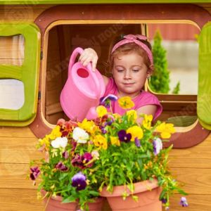 Вулична дерев'яна дитяча хатинка Ельфа  фото 5