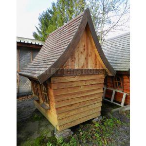 Вуличний дерев'яний будинок Лісовика для дітей фото 4