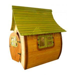 Вулична дерев'яна дитяча хатинка Ельфа  фото 6
