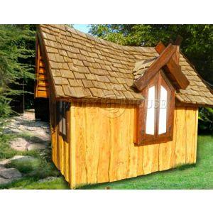 Вуличний дерев'яний будинок ЗАБОРОНЕНОГО ЛІСУ для дітей фото 2
