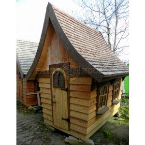 Вуличний дерев'яний будинок Лісовика для дітей фото 1