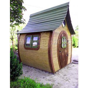 Вулична дерев'яна дитяча хатинка Ельфа  фото 1