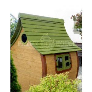 Вулична дерев'яна дитяча хатинка Ельфа  фото 2