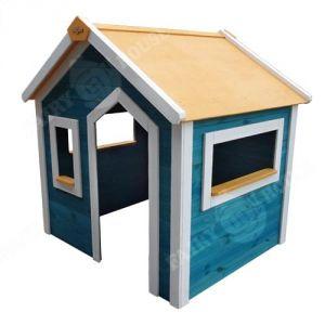 Дерев'яний будиночок сонячного міста для дітей (2) фото 1