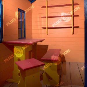 Дерев'яний вуличний будиночок Мініпутів для дітей(2) фото 4