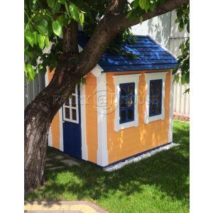 Дерев'яний вуличний будиночок Мініпутів для дітей(2) фото 1