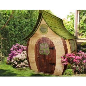 Вулична дерев'яна дитяча хатинка Ельфа  фото 3