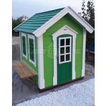 Дерев'яний вуличний будиночок Мініпутів для дітей(1) фото 4