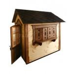 Дерев'яний вуличний будиночок Мініпутів для дітей(1) фото 7