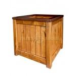 Дерев'яний ящик для рослин та квітів Марго Д48*Ш48*В48 фото 3