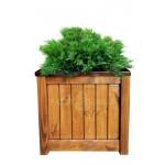 Дерев'яний ящик для рослин та квітів Марго Д48*Ш48*В48 фото 1