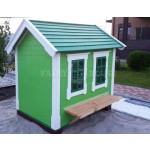 Дерев'яний вуличний будиночок Мініпутів для дітей(1) фото 5