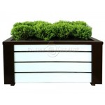 Дерев'яний ящик для рослин та квітів Амалія  Д83*Ш40*В35 фото 2