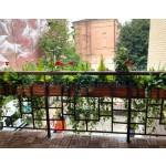 Дерев'яний ВАЗОН кашпо для рослин та квітів Марокко Д100*Ш20*В20 фото 1