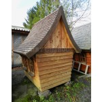 Вуличний дерев'яний будинок Лісовика для дітей фото 3