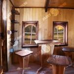 Вуличний дерев'яний будинок Лісовика для дітей фото 2