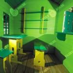 Дерев'яний вуличний будиночок Мініпутів для дітей(1) фото 2