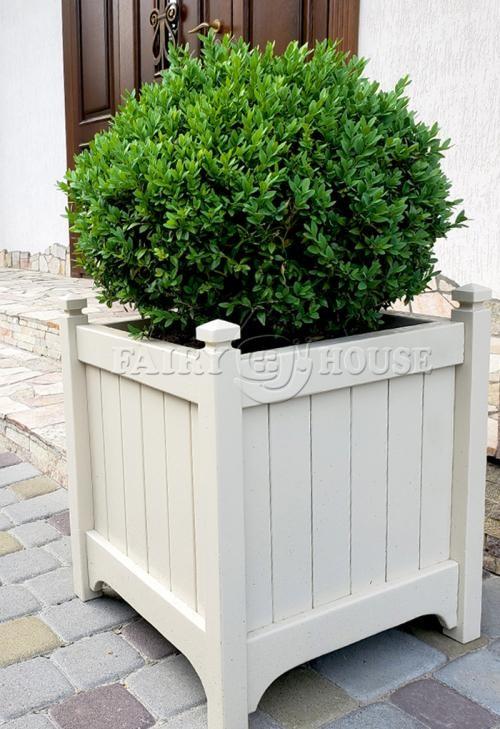 кашпо з дерева для рослин та квітів Версаль Д63*Ш63*В70