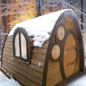 Дерев'яний будинок Нора Фродо фото 5