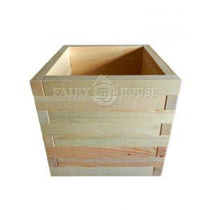 Дерев'яний ящик для рослин та квітів Мілан  Д50*Ш50*В48 фото 4