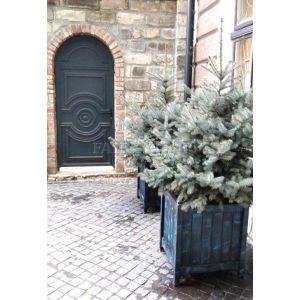 Дерев'яний  КВІТНИК для рослин та квітів Версаль Д63*Ш63*В70 фото 1