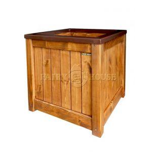 Дерев'яний ящик для рослин та квітів Марго Д48*Ш48*В48 фото 4