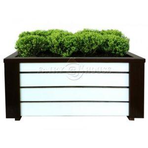 Дерев'яний ящик для рослин та квітів Амалія  Д83*Ш40*В35 фото 3