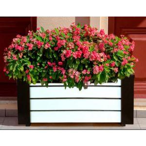 Дерев'яний ящик для рослин та квітів Амалія  Д83*Ш40*В35 фото 1