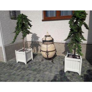 Дерев'яний  КВІТНИК для рослин та квітів Версаль Д63*Ш63*В70 фото 13