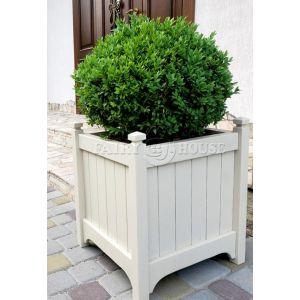 кашпо з дерева для рослин та квітів Версаль Д63*Ш63*В70 фото 1