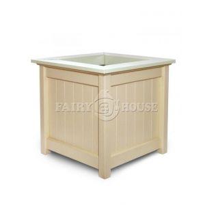 Дерев'яний садовий ящик для рослин та квітів Селеста Д59*Ш59*В56 фото 9
