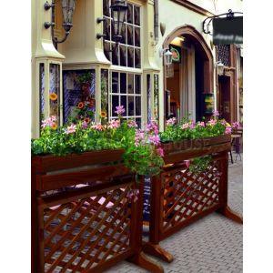 Цветник-забор фото 1